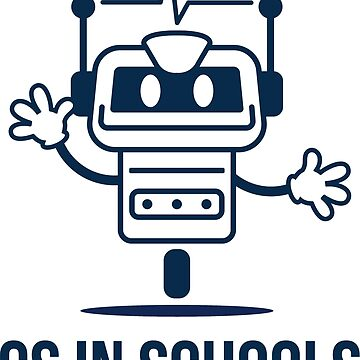 CS in Schools dark robot by kroid