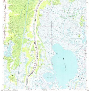 USGS TOPO Map Louisiana LA Dulac 331882 1964 24000 by wetdryvac