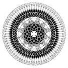 Abundance Mandala by REBECCA LEAH DESIGNS