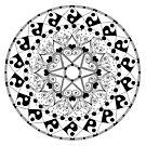 Love Mandala by REBECCA LEAH DESIGNS