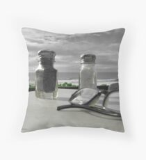 Salt and Pepper Vision Throw Pillow