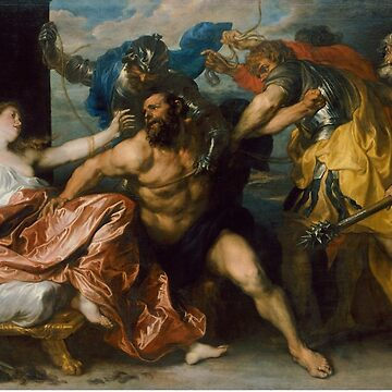Samson and Delilah by Anthony van Dyck (1628 - 1630) by allhistory
