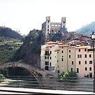 Dolceacqua, Liguria, on the Fluva dei Fioiri by BronReid