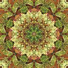 Earth Toned Floral Explosion by Lisa R Davis
