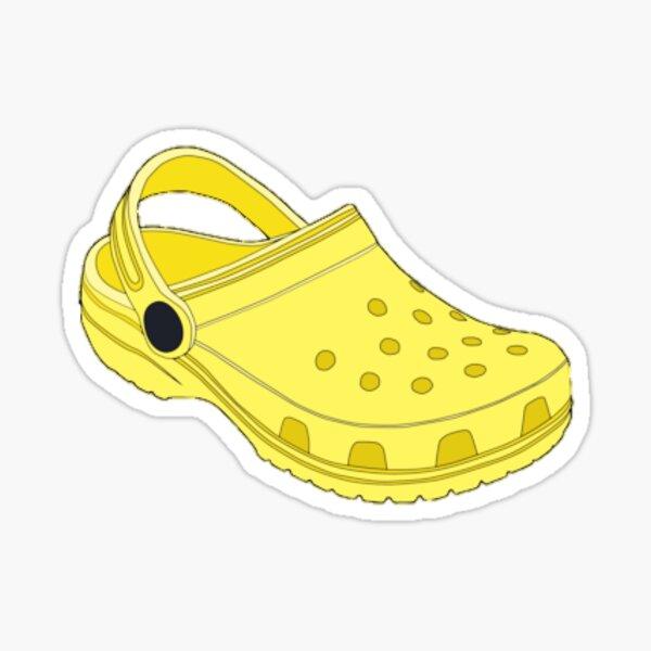 Yellow Croc Sticker  Sticker