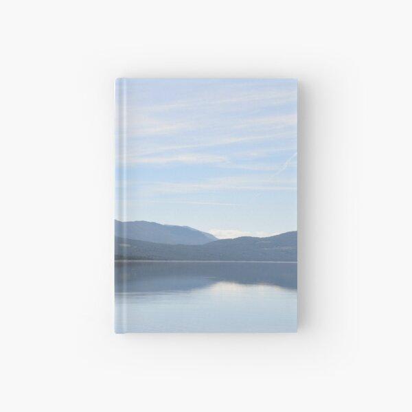 Norwegian Mountain Lake Hardcover Journal