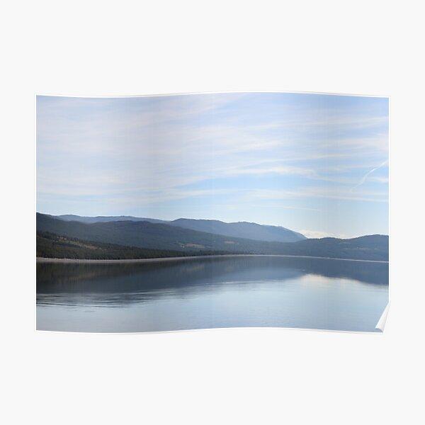 Norwegian Mountain Lake Poster