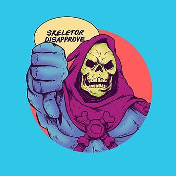 Skeletor disapprove by Madkobra