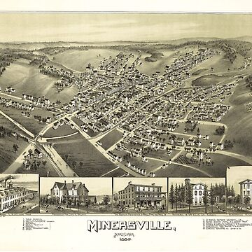 Minersville, Pennsylvania by T.M. Fowler (1889) by allhistory