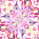 Remix Colorful Square Mandala 01 by Kelly Dietrich