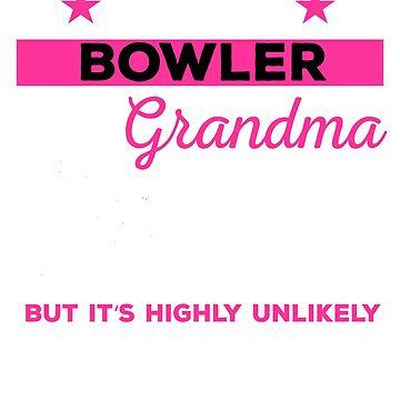 Funny Bowling Grandpa Tshirt Gift by mikevdv2001