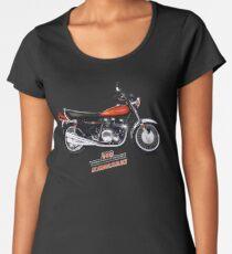 1972 Kawasaki 900 Z1 by MotorManiac  Women's Premium T-Shirt