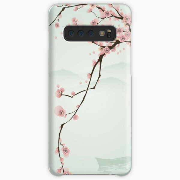 Whimsical Pink Cherry Blossom Tree Samsung Galaxy Snap Case