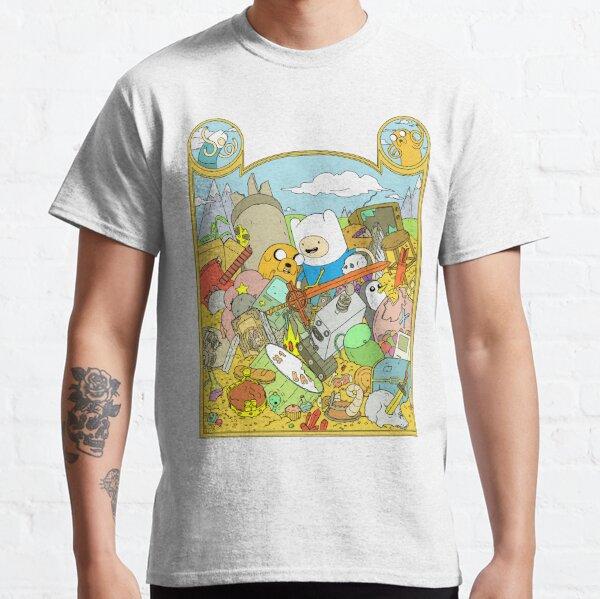 Adventure Time avec Fin et Jake T-shirt classique
