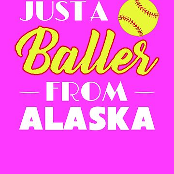 Just A Baller From Alaska by KaylinArt