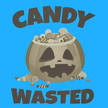 (tshirt) Candy Wasted (vintage) by KaylinArt