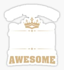 September 1949 70 Years Of Being Awesome Sticker