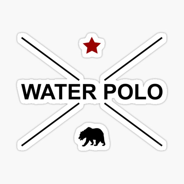 CALIFORNIA WATER POLO Sticker