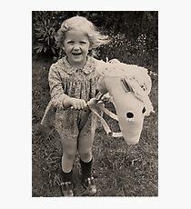 HOBBY HORSE Photographic Print