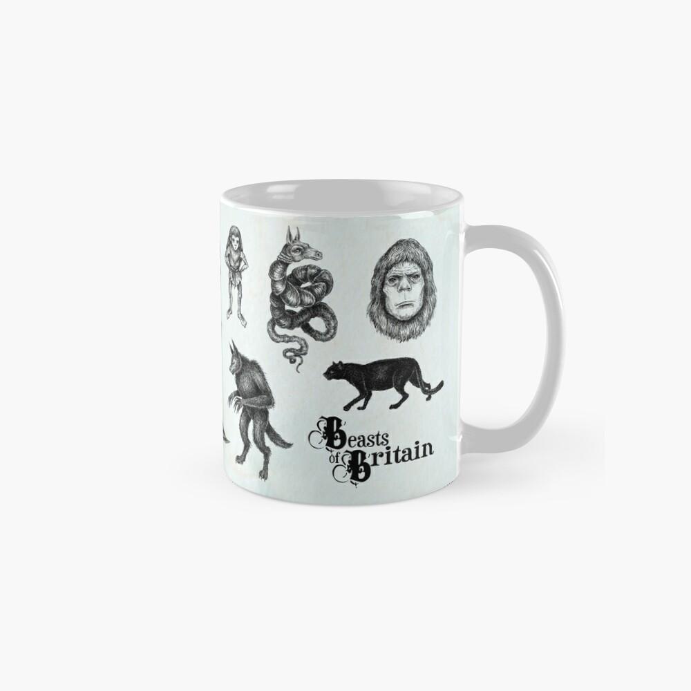 Beasts of Britain - Creature Feature Classic Mug