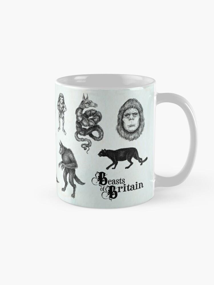 Alternate view of Beasts of Britain - Creature Feature Mug