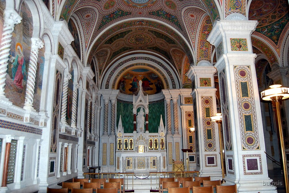One of the smaller chapel areas - Cathedral Basilica - St. Louis by barnsis