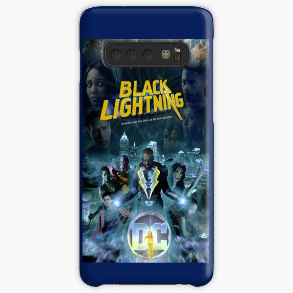 Black Lightning Samsung Galaxy Snap Case