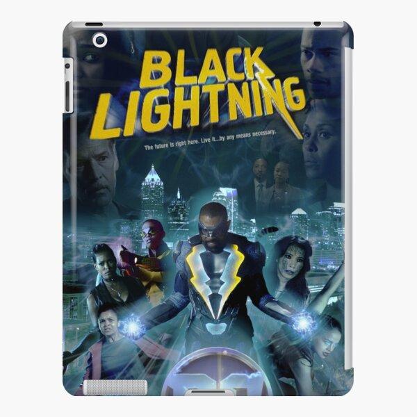 Black Lightning iPad Snap Case