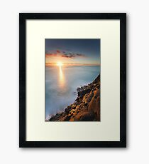 May The Light Shine On You Framed Print