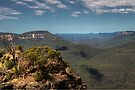 From above The Three Sisters and Beyond - HDR by DavidIori
