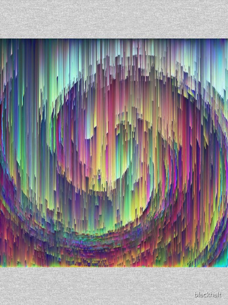 Abstract digital wave by blackhalt