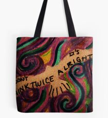 Assurance in Words Tote Bag