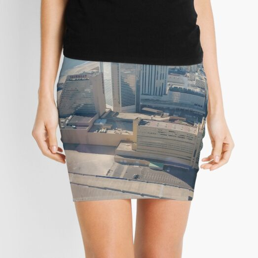 #AtlanticCity, #City, #architecture, #street, #buildings, #tree, #car, #pedestrian, #skyscraper, #evening, #sunlights Mini Skirt