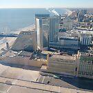#AtlanticCity, #City, #architecture, #street, #buildings, #tree, #car, #pedestrian, #skyscraper, #evening, #sunlights by znamenski