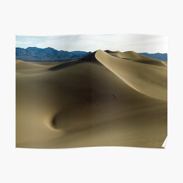 Stovepipe Wells Dunes Poster