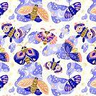 Moths by PenguinHouse