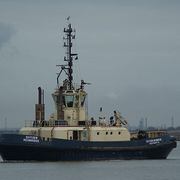 Svitzer Redbridge,Southhampton. Tug made 1995 by davesphotographics