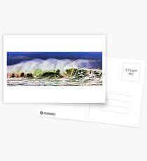 Ocean Power Wave Postcards
