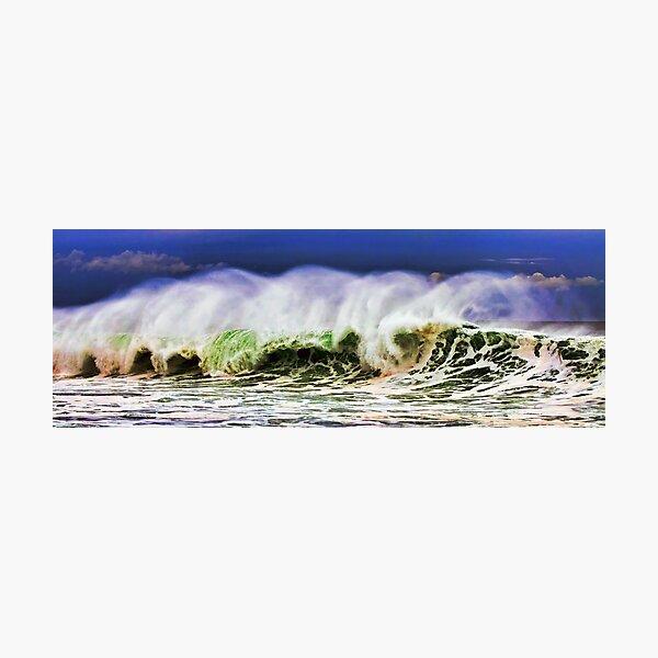 Ocean Power Wave Photographic Print