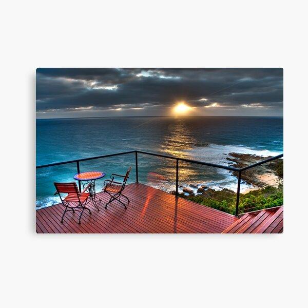 The Deck House  - Sunrise Canvas Print