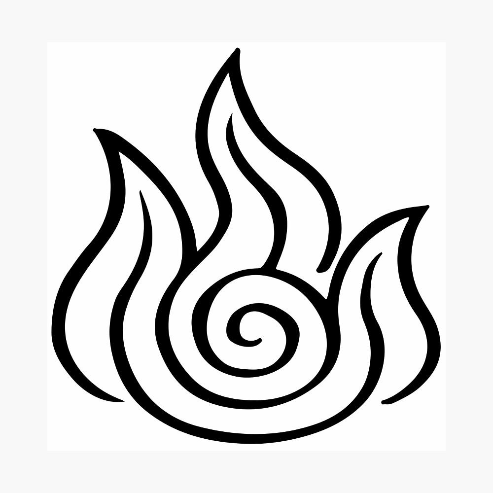 Avatar The Last Airbender Fire Symbol