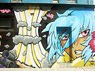 Newtown street art by Juilee  Pryor