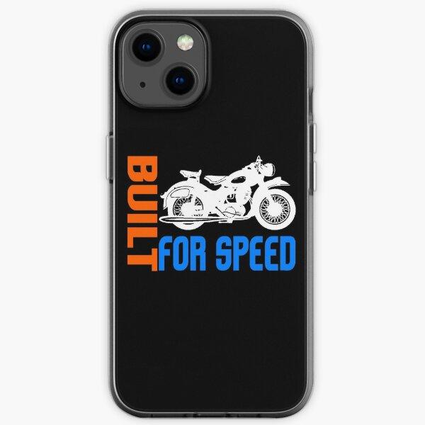 MOTOCYCLETTE-3 Coque souple iPhone