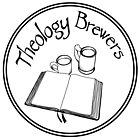 Theology Brewers Logo Circle - Black by Faith Brewer