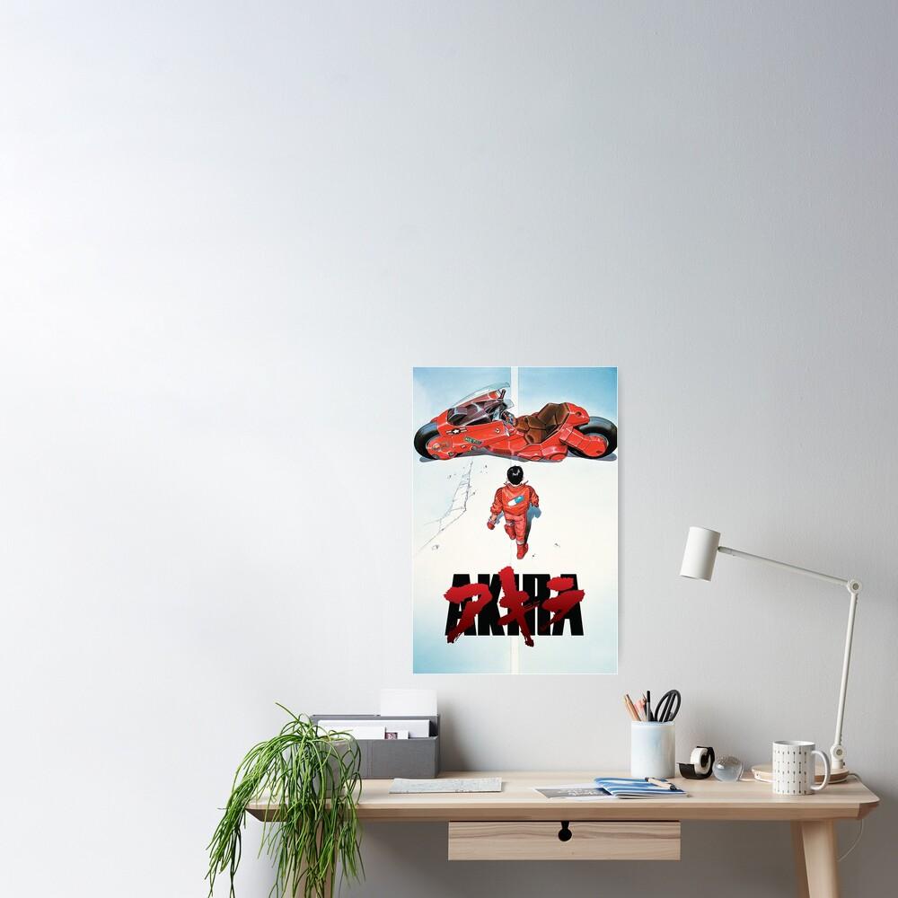 Akira Movie Poster Poster