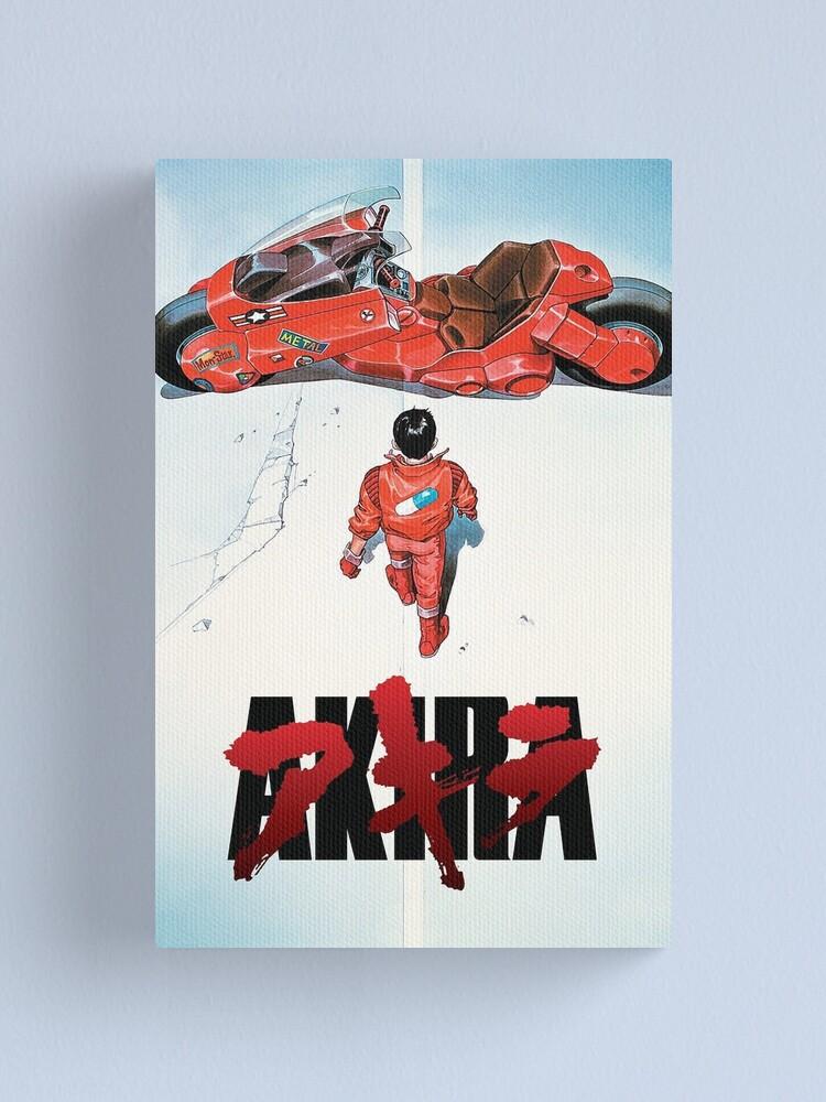 Alternate view of Akira Movie Poster Canvas Print