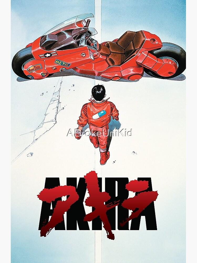 Akira Movie Poster by ABrokeUniKid