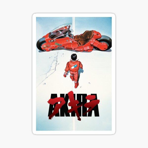 Akira Movie Poster Sticker