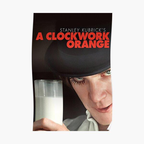 Affiche de film orange mécanique Poster