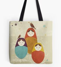 Matriochka Tote Bag